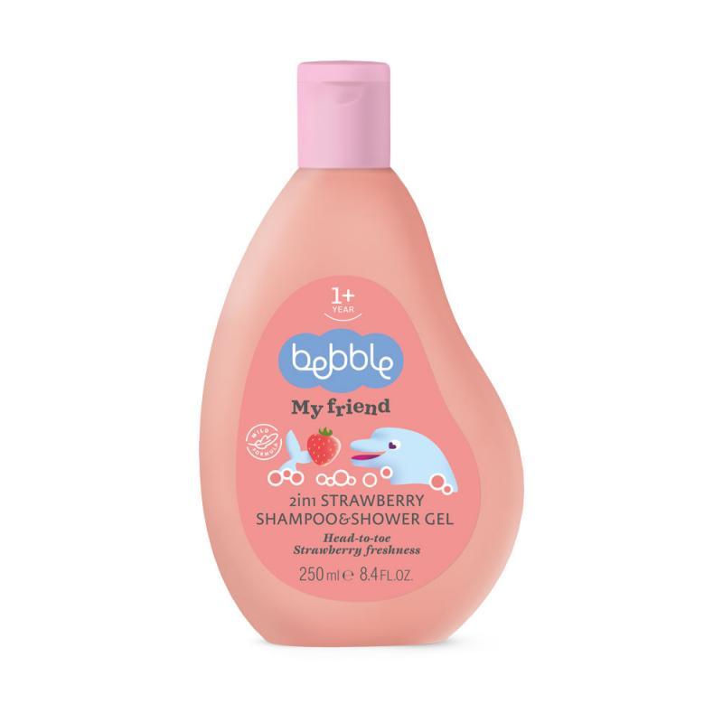 2in1 Strawberry Shampoo&Shower Gel Bebble