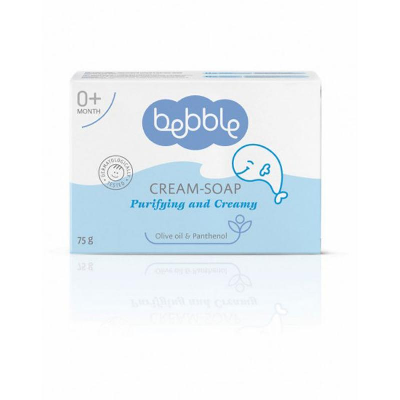Cream-soap Bebble